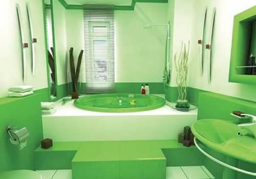 В какой цвет покрасить ванную комнату.фото