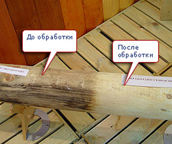 Отбеливание древесины своими руками