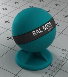 Ral 5021 какой цвет