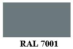 Краска цвета ral 7001 серебристо серая